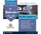 Company Formation in Bahrain BD 399/- only