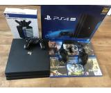 SONY PLAYSTATION 4 Console pro 1TB PS4 CONSOLE 30 GAMES & 4 Controllers