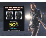 Buy the Walking Dead Motorcycle Morgan Negan Leather Jacket