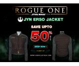 Buy Jyn Erso Rogue One Star Wars Jacket and Vest in Original Leather