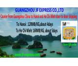 Offer courier service from Guangzhou China to Hanoi ,Ho Chi Minh in Vietnam