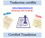 Certified online translation at Lingua-Express Translation-writing-interpretating