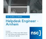 1.5 Level Helpdesk Engineer - Arnhem