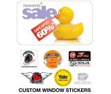 Car, Shop, Removable rear Window Stickers in Barrow Upon Soar