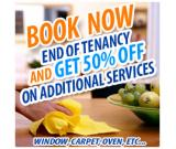 Get 50% off with End of tenancy Portsmouth