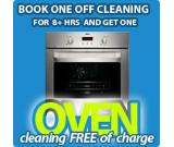 Get oven cleaning Portsmouth free of charge