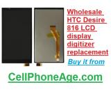 Wholesale HTC Desire 816 LCD display digitizer