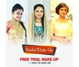 Bridal Makeup and Free Trail Makeup in kerala - Manhaa Naureen : +91 8157060009