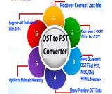 Conversion Outlook OST to PST By Atom TechSoft OST to PST Viewer Tool