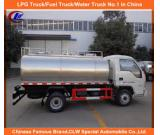 Stainless Steel Milk Tanker 1 Compartment Capacity