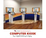 Affordable price computer kiosks by Amcofab