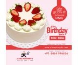 Birthday Cake Delivery in Hyderabad