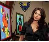 Priya Golani well-known Indian contemporary artist.