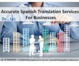 Spanish Translation Services in India - Delsh Language Consultancy
