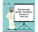 Know About Arabic Translation Services in Delhi, India?