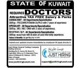 Required Doctors in Kuwait.
