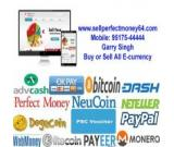 Buy sell perfect money, bitcoin and neteller in India