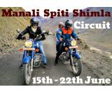 Spiti Motorcycle tour start from 15 june