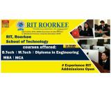 ADMISSION OPEN 2019 RIT ROORKEE