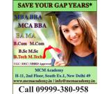 MBA BBA BA MA BCA MCA Degree One Year Fast Track Single Sitting Mode Call MCM Academy
