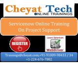 Service now online training by cheyat tech