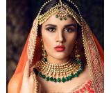 Best Kundan jewellery shop in Delhi NCR. Bridal Jewellery shop.