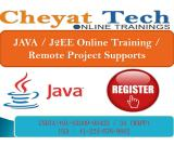 Java online training and job support by cheyat tech