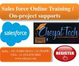 Salesforce Online Training by cheyat tech