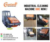 Ride-On industrial Sweeping Machines