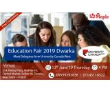 University Canada West Education Fair 2019 at Dwarka