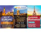 Explore Undiscovered Europe along beloved ones with Go Disha
