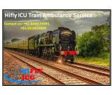 Minimal Price Train Ambulance Service in Hyderabad By Hifly ICU