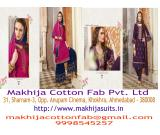 Fashionable Designer Suits and Dress Material Manufacturer in Ahmedabad | Makhija Suits