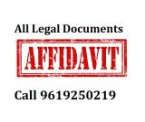 Affidavit, Agreement, WILL, MOU, Gift-Deed Lawyer Mumbai Call 9619250219