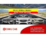 Book Delhi to Shimla cabs online for One-way & Round trips at Chiku Cab