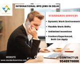 International BPO job in Delhi NCR`