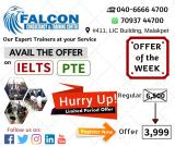 Spoken English, PTE and IELTS Coaching in Hyderabad | Falcon