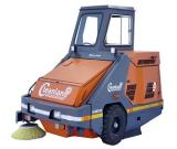 Ride on Industrial Sweeping Machine on Rent