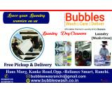 BUBBLES |WASH| CARE DELIVER.