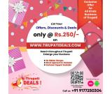 Tirupati Deals Best offers and Discounts