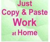 Copy paste job part time