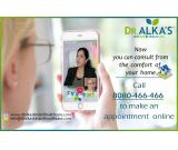 Online Consultation @ Dr.Alka's Skincare & Healthcare