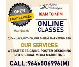 Krishiv technolgies -is a IT complete Solution Provider Company Based in India.