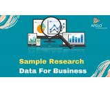 Sample Research Data for Business