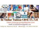 Br Online Home Tuition - Physics/CS/IP  classes IX - XII