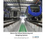 Metro Rail Wheel Balancing and Weighing System