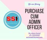 PURCHASE  CUM  ADMIN OFFICER ...