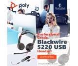 Why Plantronics Blackwire 5200 series for your Contact Center?