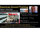 Beejays Online Voice &Accent Live Coaching for IT Project Managers