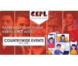 Make your next online event a HIT with countrywide Events